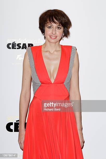 Actress Valerie Bonneton attends the 37th Cesar Film Awards at Le Fouquet's on February 24 2012 in Paris France