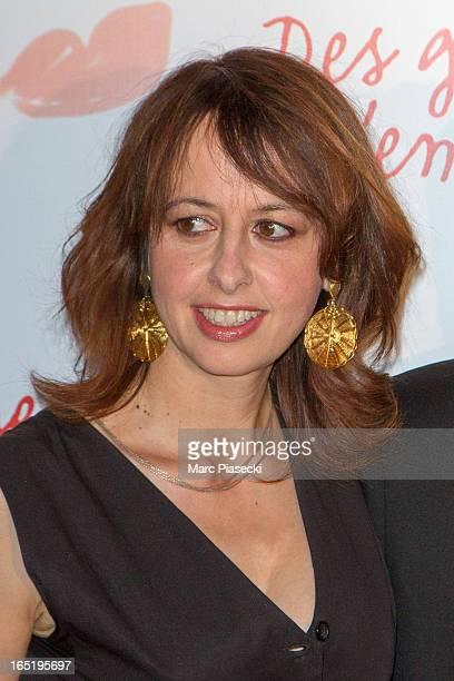 Actress Valerie Bonneton attends the 'Des Gens Qui S'embrassent' Premiere at Cinema Gaumont Marignan on April 1 2013 in Paris France