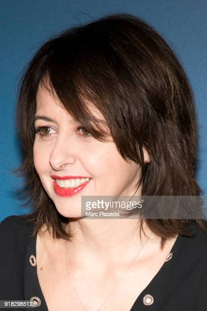 Actress Valerie Bonneton attends the 'La Ch'tite Famille' Premiere at Cinema Gaumont Marignan on February 14 2018 in Paris France
