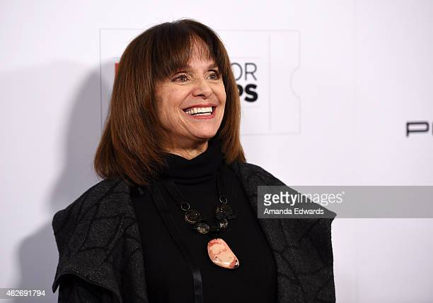 Actress Valerie Harper arrives at the AARP 14th Annual Movies For Grownups Awards Gala at the Beverly Wilshire Four Seasons Hotel on February 2 2015...