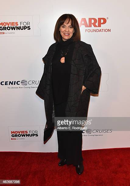 Actress Valerie Harper arrives to AARP The Magazine's 14th Annual Movies For Grownups Awards Gala at the Beverly Wilshire Four Seasons Hotel on...
