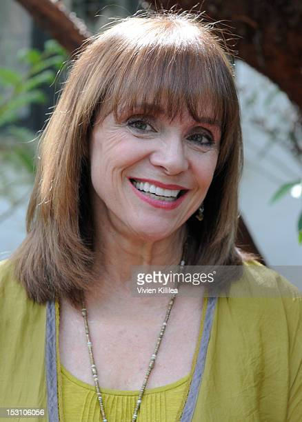 Actress Valerie Harper attends the 2nd Annual Celebrity Garden Party Fundraiser Memorabilia Auction For Motion Picture Home Hosted By Renee Taylor...