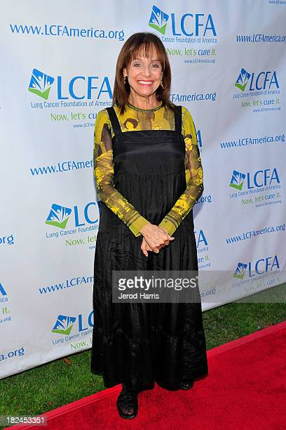 Actress Valerie Harper attends the Lung Cancer Foundation of America's Bring On The Change event on September 29 2013 in Los Angeles California