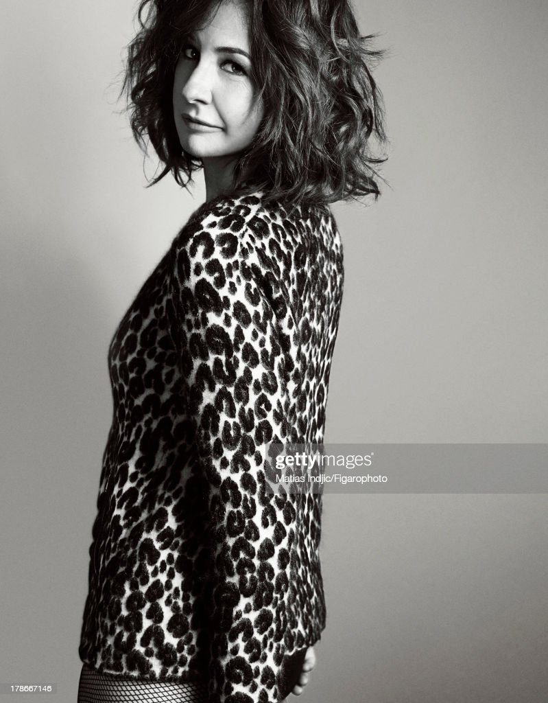 Valerie Lemercier, Madame Figaro, August 23, 2013
