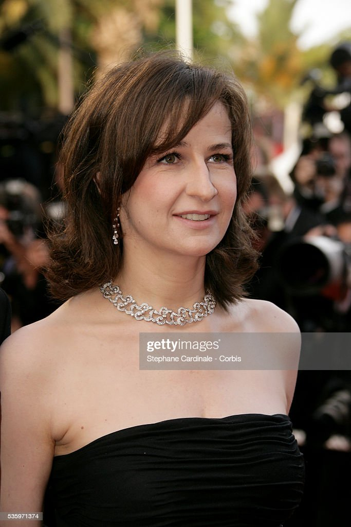 Actress Valerie Lermercier at the premiere of 'Chromophobia' during the 58th Cannes Film Festival.