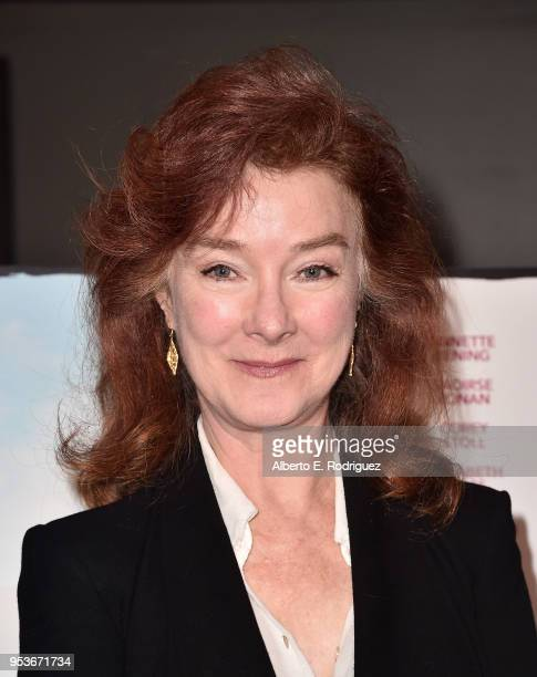 """Actress Valerie Mahaffey attends the premiere of Sony Pictures Classics' """"The Seagull"""" at The Writers Guild Theater on May 1, 2018 in Beverly Hills,..."""