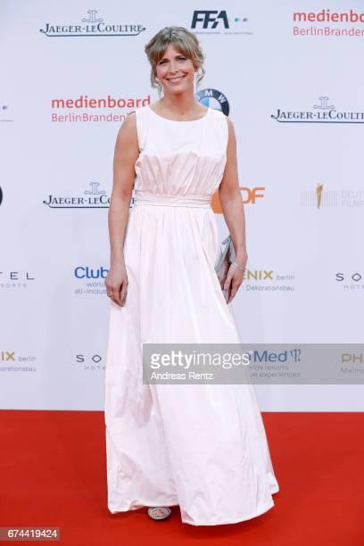 Actress Valerie Niehaus attends the Lola German Film Award red carpet at Messe Berlin on April 28 2017 in Berlin Germany