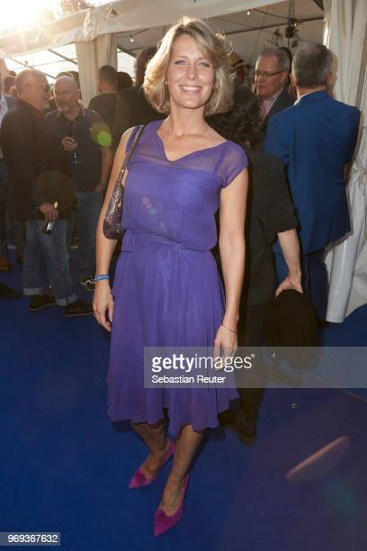 Actress Valerie Niehaus attends the summer party 2018 of the German Producers Alliance on June 7 2018 in Berlin Germany
