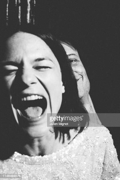 Actress Valerie Pachner actor August Diehl from the movie 'A Hidden Life' pose for a portrait on May 19 2019 in Cannes France