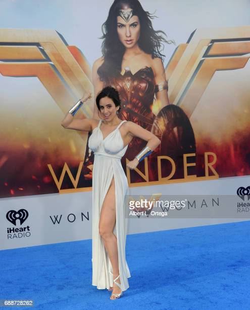 Actress Valerie Perez arrives for the Premiere Of Warner Bros Pictures' Wonder Woman held at the Pantages Theatre on May 25 2017 in Hollywood...
