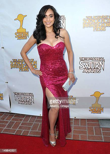 Actress Valerie Perez at the 38th Annual Saturn Awards Presented By The Academy Of Science Fiction, Fantasy & Horror Films held at Castaways on July...