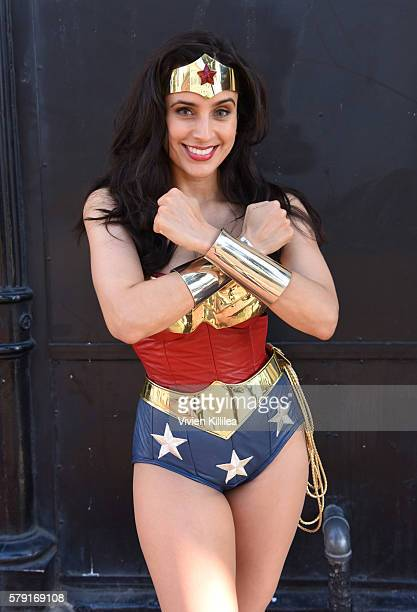 Actress Valerie Perez cosplays at ComicCon International 2016 on July 20 2016 in San Diego California