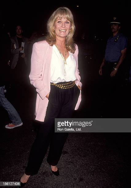 Actress Valerie Perrine attends the 'A League of Their Own' New York City Premiere on June 25 1992 at Ziegfeld Theater in New York City New York