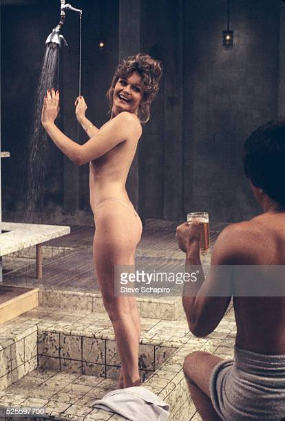 Actress Valerie Perrine in the TV movie version of Bruce Jay Friedman's play Steambath