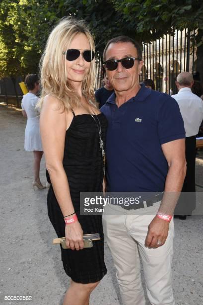 Actress Valerie Steffen and Mario Peres attend La Fete des Tuileries on June 23 2017 in Paris France