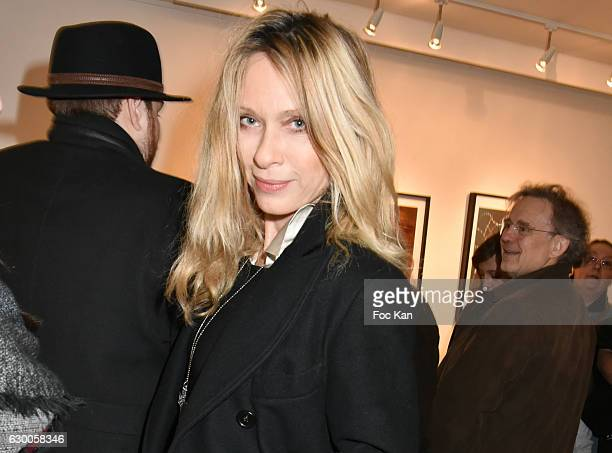 Actress Valerie Steffen attends Norman Reedus Photo Exhibition around his book The Sun's Coming Up Like a Big Bald Head at Galerie Hors Champs on...