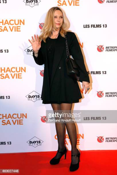 Actress Valerie Steffen attends the Chacun sa vie Paris Premiere at Cinema UGC Normandie on March 13 2017 in Paris France