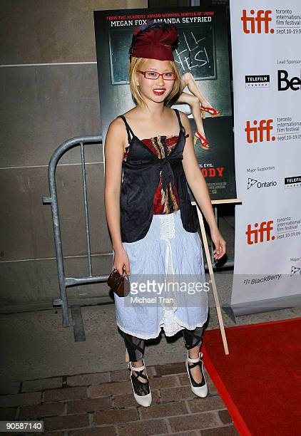 "Actress Valerie Tian arrives to the ""Jennifer's Body"" premiere during the 2009 Toronto International Film Festival held at the Ryerson Theatre on..."