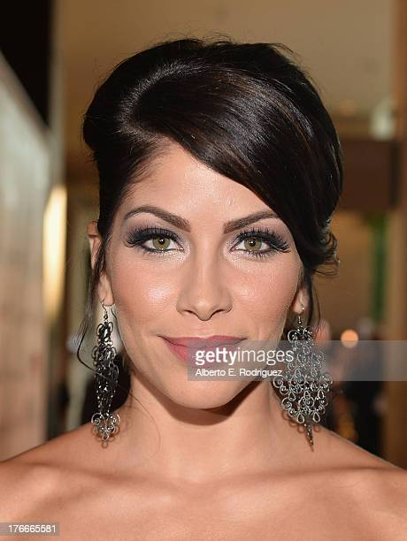 Actress Valery Ortiz arrives to the 28th Annual Imagen Awards at The Beverly Hilton Hotel on August 16 2013 in Beverly Hills California