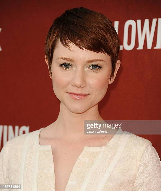 Actress Valorie Curry attends a screening and QA of The Following at Leonard H Goldenson Theatre on April 29 2013 in North Hollywood California