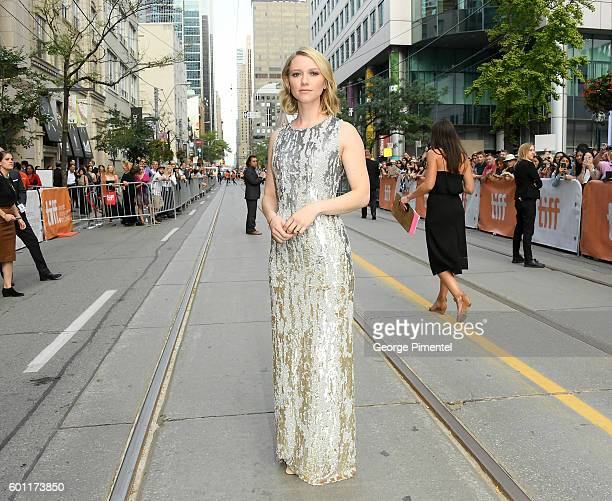 Actress Valorie Curry attends the American Pastoral during the 2016 Toronto International Film Festival premiere at Princess of Wales Theatre on...