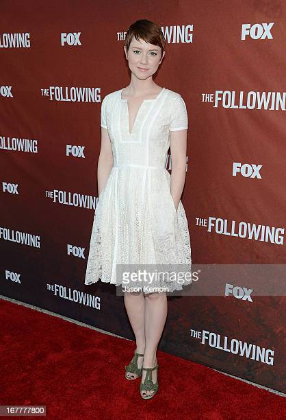 Actress Valorie Curry attends the screening of Fox's The Following at Leonard H Goldenson Theatre on April 29 2013 in North Hollywood California