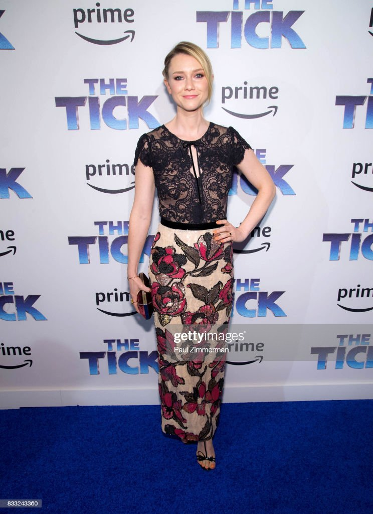Actress Valorie Curry attends 'The Tick' Blue Carpet Premiere at Village East Cinema on August 16, 2017 in New York City.