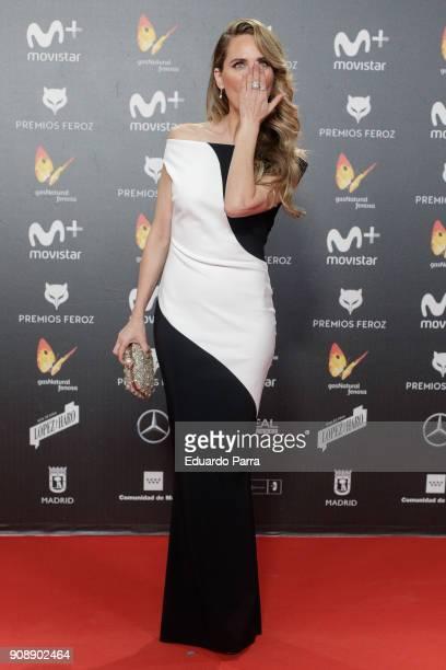 Actress Vanesa Romero attends Feroz Awards 2018 at Magarinos Complex on January 22 2018 in Madrid Spain