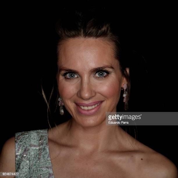 Actress Vanesa Romero attends the 'Fotogramas de Plata' awards at Joy Slava disco on February 26 2018 in Madrid Spain