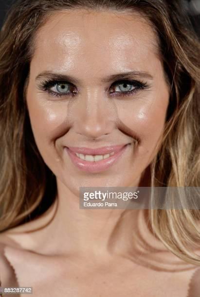 Actress Vanesa Romero attends the Hannibal Laguna 30th anniversary Gala Dinner at the Santo Mauro hotel on November 30 2017 in Madrid Spain