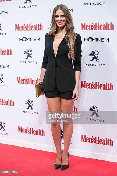 Actress Vanesa Romero attends the 'Men's Health' awards gala at Goya Theatre on October 28 2014 in Madrid Spain