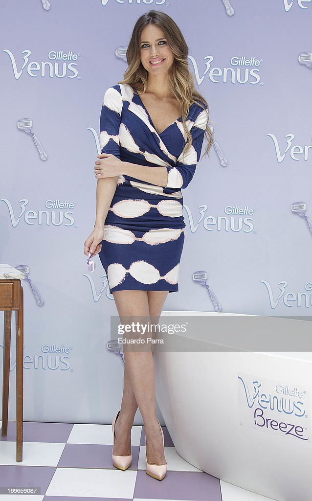 Actress Vanesa Romero attends 'Yo soy de Venus' by Gillette photocall at San Marcos Foundation on May 30, 2013 in Madrid, Spain.