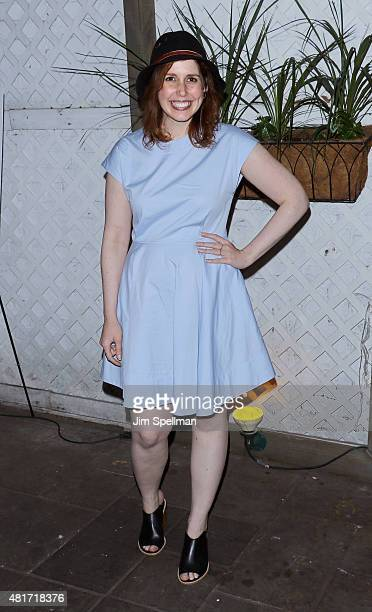 Actress Vanessa Bayer attends Colin Quinn The New York Story Opening Night at Duet Brasserie on July 23 2015 in New York City