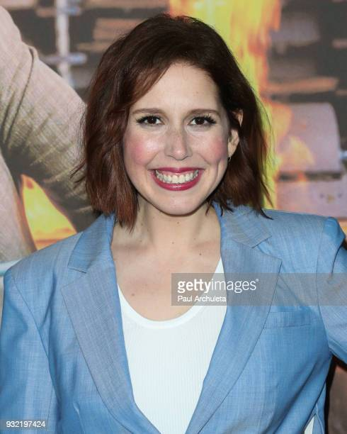 Actress Vanessa Bayer attends the screening of HBO's 'The Zen Diaries Of Garry Shandling' at Avalon on March 14 2018 in Hollywood California