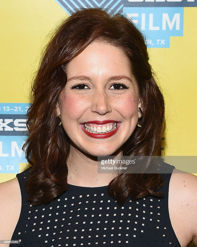 Actress Vanessa Bayer, who hosted the evening, poses during the SXSW FIlm Awards at the 2015 SXSW Music, FIlm + Interactive Festival at the Paramount Theatre on March 17, 2015 in Austin, Texas.