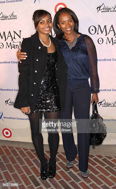 Actress Vanessa Bel Calloway and her daughter Alexandra attend the Debbie Allen Dance Academy's annual fundraiser at UCLA's Royce Hall on December 10...