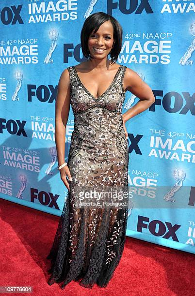 Actress Vanessa Bell Calloway arrives at the 42nd NAACP Image Awards held at The Shrine Auditorium on March 4 2011 in Los Angeles California