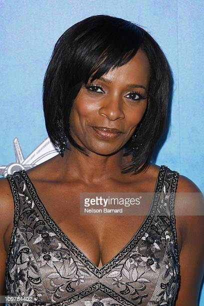 Actress Vanessa Bell Calloway arrives at the 42nd NAACP Image Awards after party at the SLS Hotel Beverly Hills on March 4 2011 in Los Angeles...