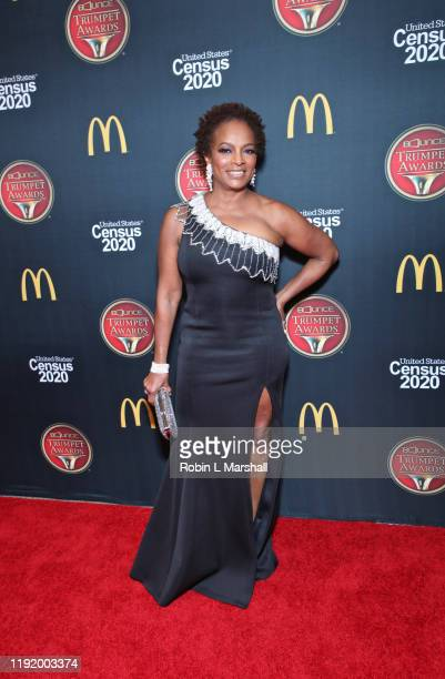 Actress Vanessa Bell Calloway attends the 2019 Bounce Trumpet Awards at Dolby Theatre on December 04 2019 in Hollywood California