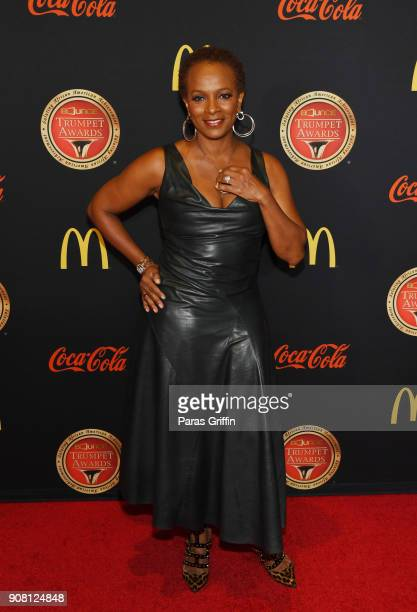 Actress Vanessa Bell Calloway attends the 26th Annual Trumpet Awards at Cobb Energy Performing Arts Center on January 20 2018 in Atlanta Georgia