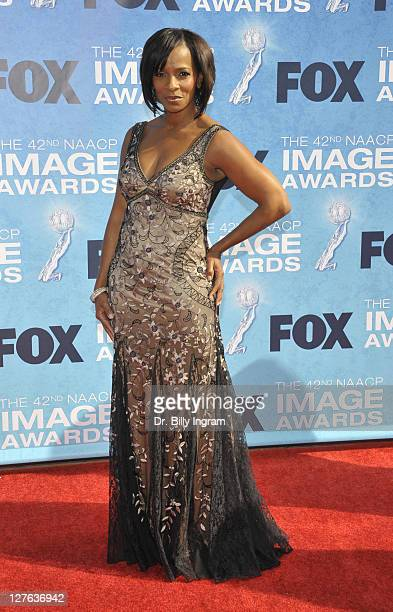 Actress Vanessa Bell Calloway attends the 42nd NAACP Image Awards at The Shrine Auditorium on March 4 2011 in Los Angeles California