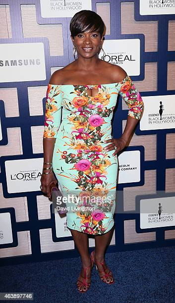 Actress Vanessa Bell Calloway attends the 8th Annual ESSENCE Black Women In Hollywood Luncheon at the Beverly Wilshire Four Seasons Hotel on February...