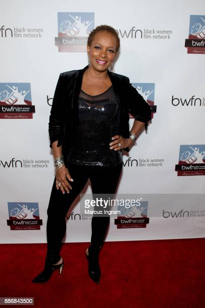 Actress Vanessa Bell Calloway attends the BWFN holiday party at Revel on December 5 2017 in Atlanta Georgia