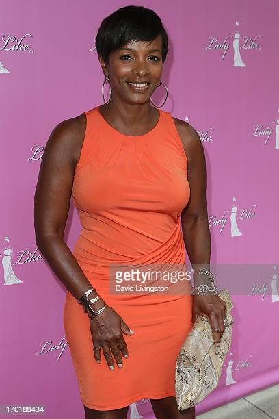 Actress Vanessa Bell Calloway attends the LadyLike Foundation Women of Excellence Awards at the Luxe Hotel on June 8 2013 in Los Angeles California