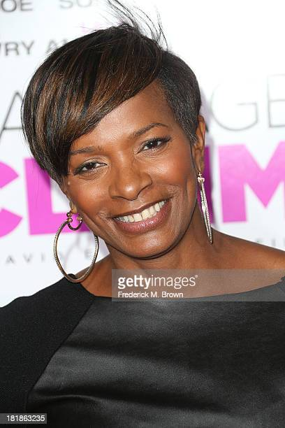 Actress Vanessa Bell Calloway attends the premiere of Fox Searchlight Pictures' Baggage Claim at the Regal Cinemas LA Live on September 25 2013 in...