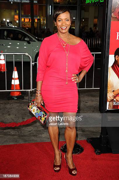 Actress Vanessa Bell Calloway attends the premiere of The Best Man Holiday at TCL Chinese Theatre on November 5 2013 in Hollywood California