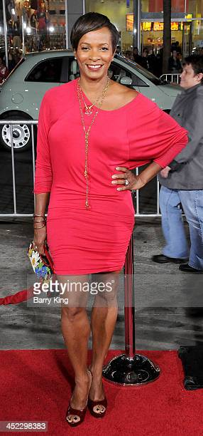 Actress Vanessa Bell Calloway attends the premiere of 'The Best Man Holiday' on November 5 2013 at TCL Chinese Theatre in Hollywood California