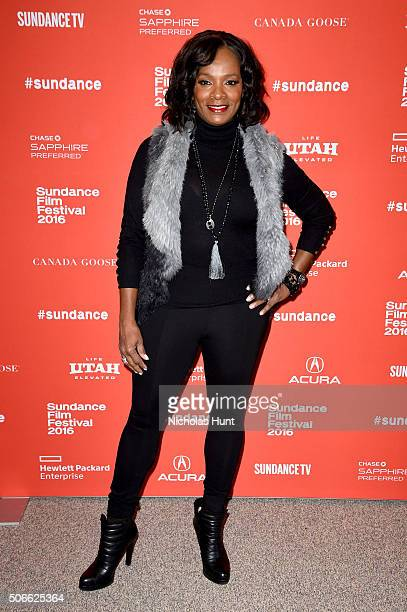 Actress Vanessa Bell Calloway attends the Southside With You Premiere during the 2016 Sundance Film Festival at Eccles Center Theatre on January 24...