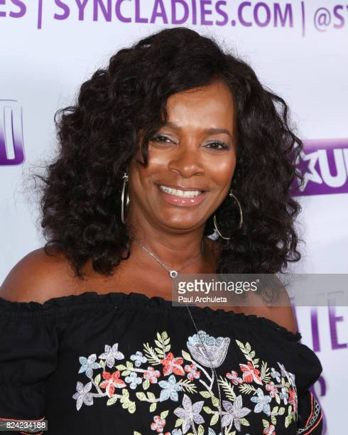 Actress Vanessa Bell Calloway attends the Syncopated Ladies LA concert at The John Anson Ford Amphitheatre on July 28 2017 in Hollywood California