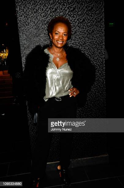 Actress Vanessa Bell Calloway attends the Ted Reid's PreGrammy Reception at STK Los Angeles on February 7 2019 in Los Angeles California
